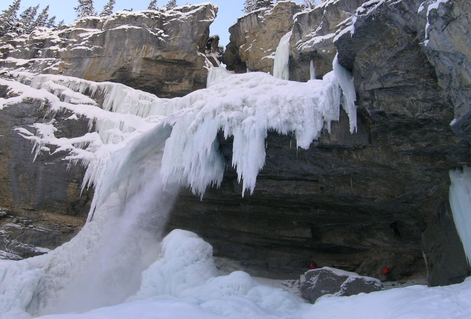 Guided ice climbs in the Canadian Rockies.