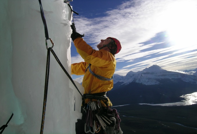 Ice climb Banff and Lake Louise