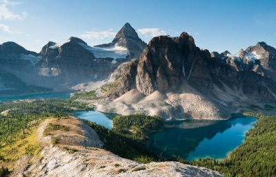 Mt Assiniboine guided ascents