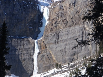 Bourgeau Falls, Left