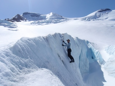 North Athabasca Glacier, guides ascents.