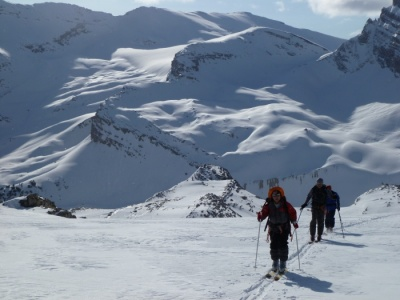 Ski tour the Wapta traverse.