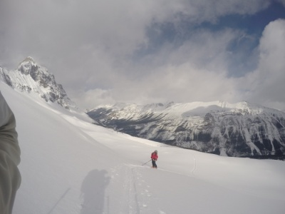 ski tour Mt Field with Cirrus Alpine Guides