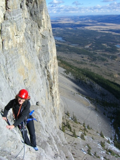 Windy Slabs, Mt Yamnuska