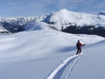 ski tour the canadain rockies with guides, guided trips from Banff Lake Louise