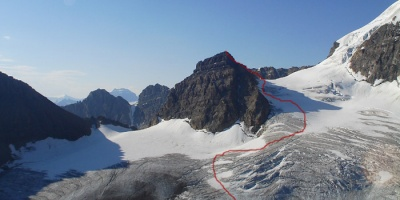 A2 Peak and Boundry Glacier