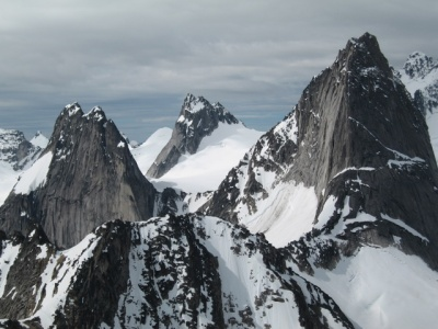 Bugaboos, Snowpatch and Pigion spires
