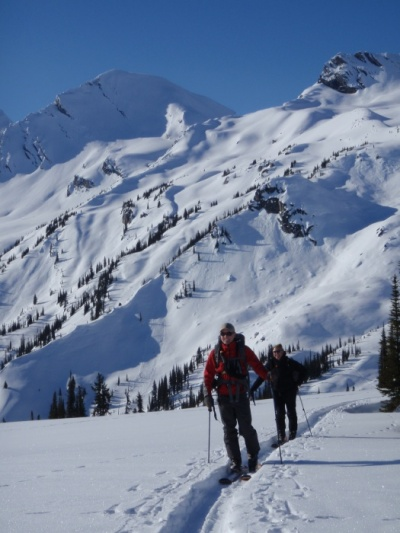 Guided ski trips at Rogers Pass