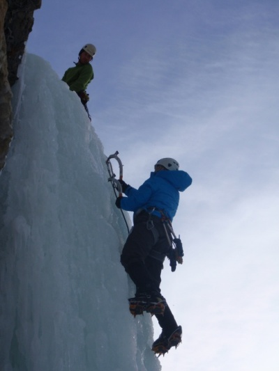 Introduction to Ice Climbing with Cirrus Alpine Guides