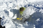 Cirrus alpine guides AST 1 course, avalanche safety.
