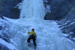 Ice climb the Ghost River