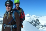 Guided alpine climbing with cirrus alpine guides