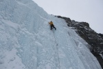 Advanced ice climbing instruction with Cirrus Alpine Guides
