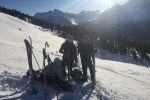 Backcountry touring with Cirrus Alpine Guides