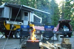 Mt Cline campground