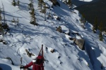 Guided Ski tours Mt Hector in Banff Park