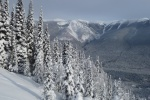 Ski tour connaught Slde Path Rogers Pass
