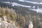 Guided ice climbs in Banff with ACMG guides on Rogan's Gully