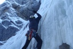 Guided ice climbs in Banff, Canmore or Kananaskis